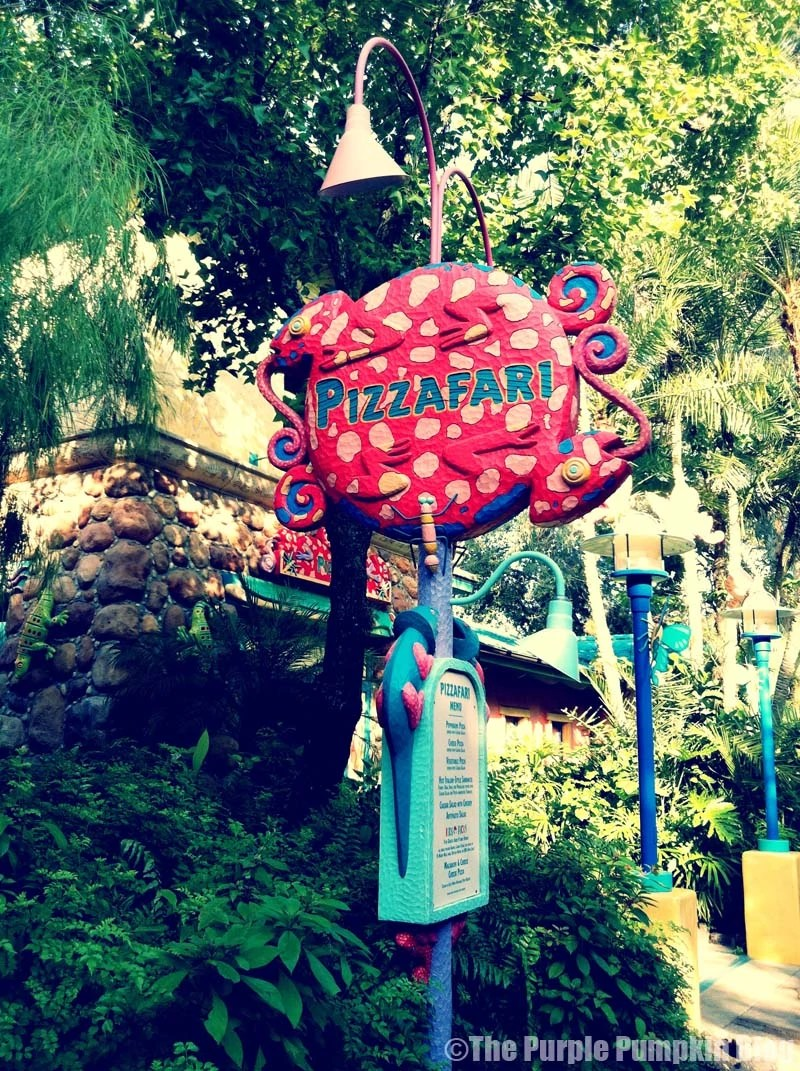 Pizzafari - Animal Kingdom