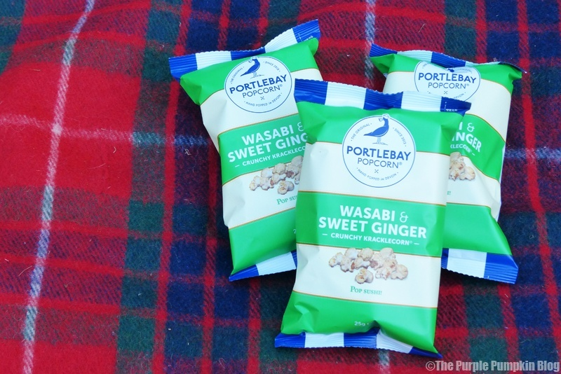 Portlebay Popcorn - Wasabi and Sweet Ginger (2)