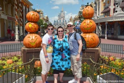 Us at Magic Kingdom