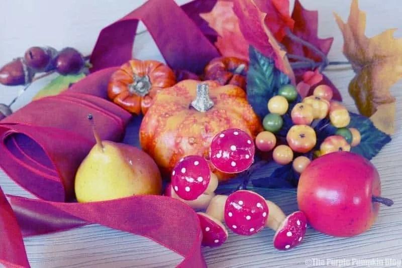 Autumn Fall Wreath Supplies