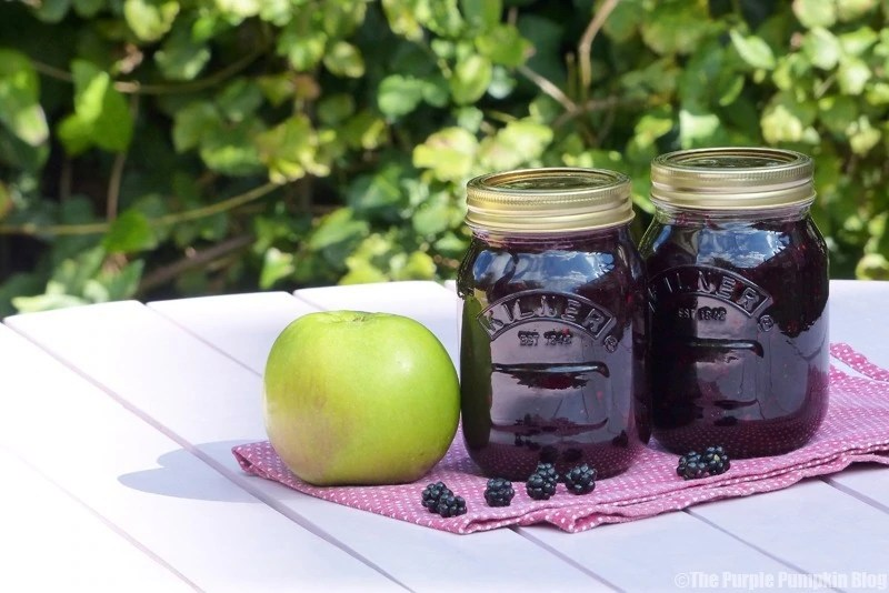 Blackberry + Apple Jam