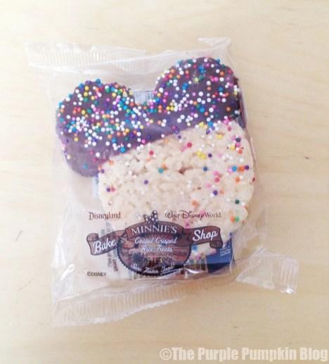 Disney Mickey Rice Krispies Treat