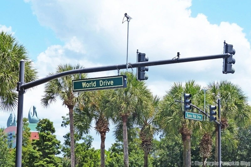 Disney World Drive Sign