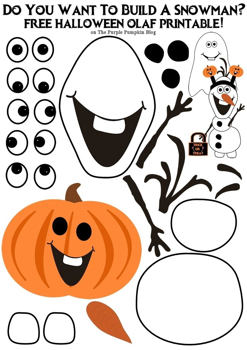 free olaf printable do you want to build a snowman