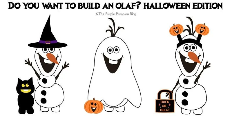 Halloween Edition Do You Want To Build An Olaf - Free Printables!