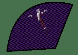 Halloween Popcorn Cones - The Nightmare Before Christmas - Jack Skellington Santa