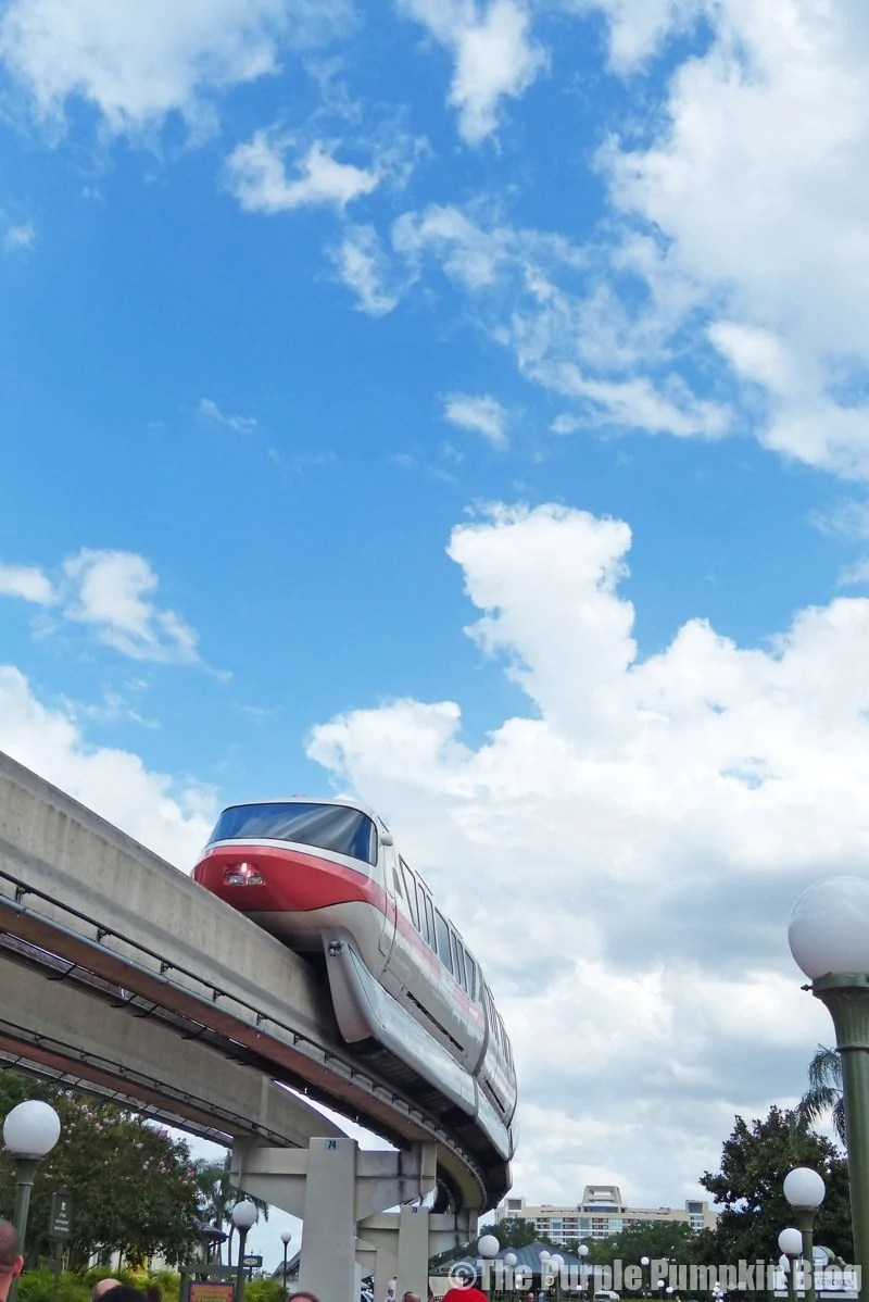 Monorail - Magic Kingdom