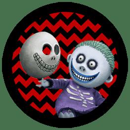Nightmare Before Christmas - Barrel - Halloween Toppers