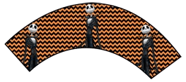 Nightmare Before Christmas - Jack Skellington - Halloween Wrappers