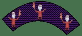 Nightmare Before Christmas - Lock - Halloween Wrappers