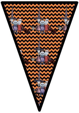 Nightmare Before Christmas - Lock Shock and Barrel - Pennants