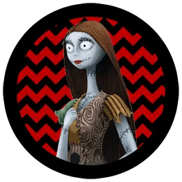 Nightmare Before Christmas - Sally - Halloween Toppers