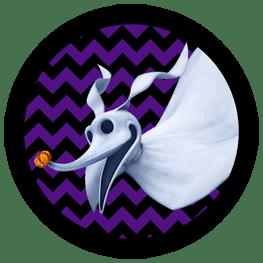 Nightmare Before Christmas - Zero - Halloween Toppers