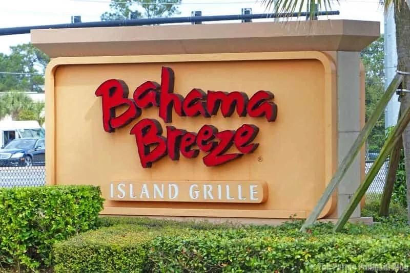 Bahama Breeze Island Grille Restaurant Orlando Florida