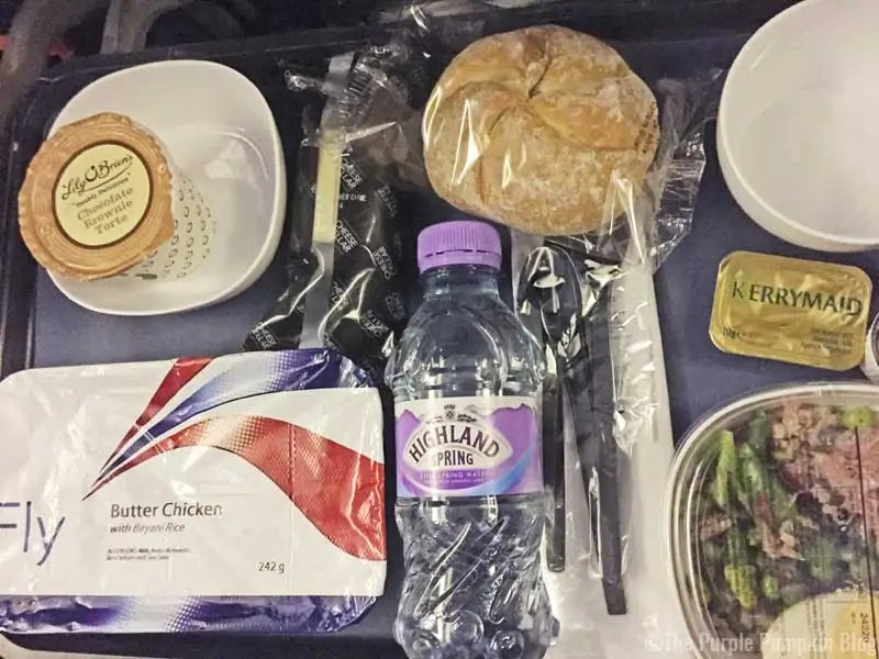 British Airways Food