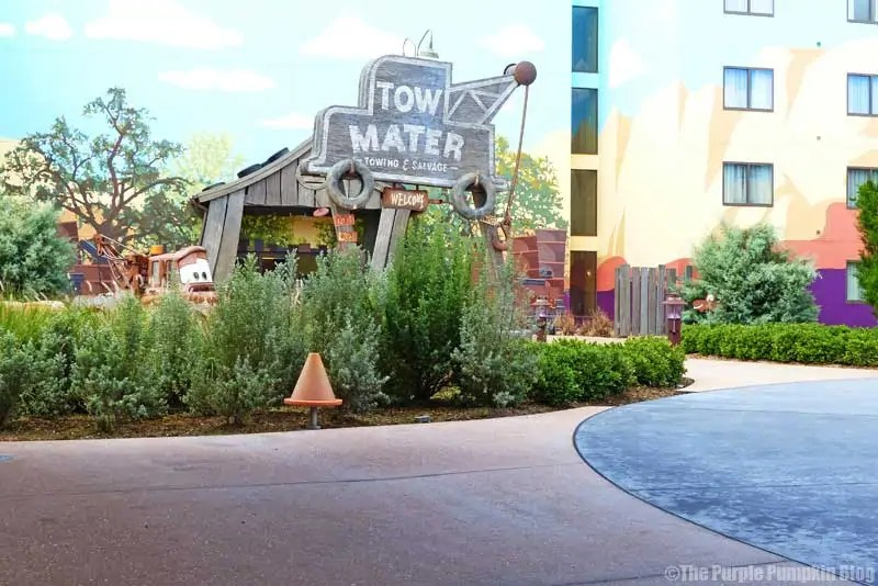 Disney Art of Animation - Cars Courtyard