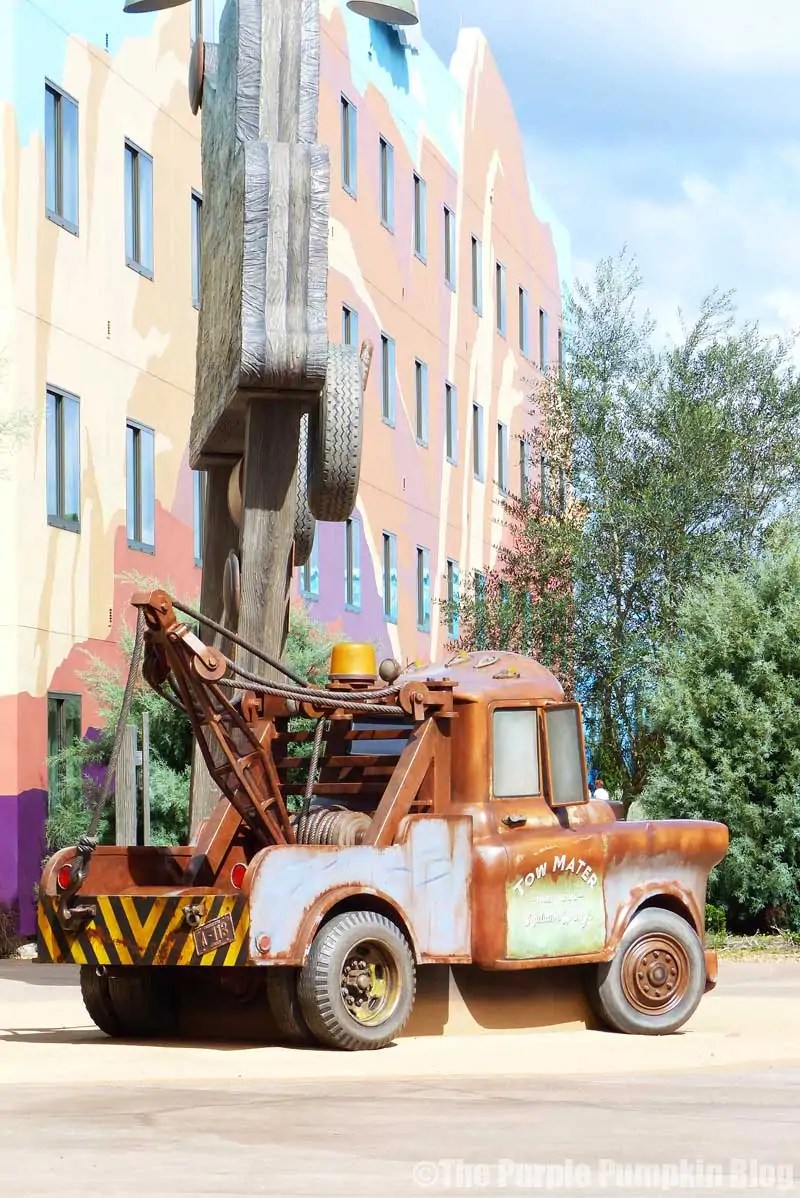 Disney Art of Animation - Cars Courtyard - Mater Model