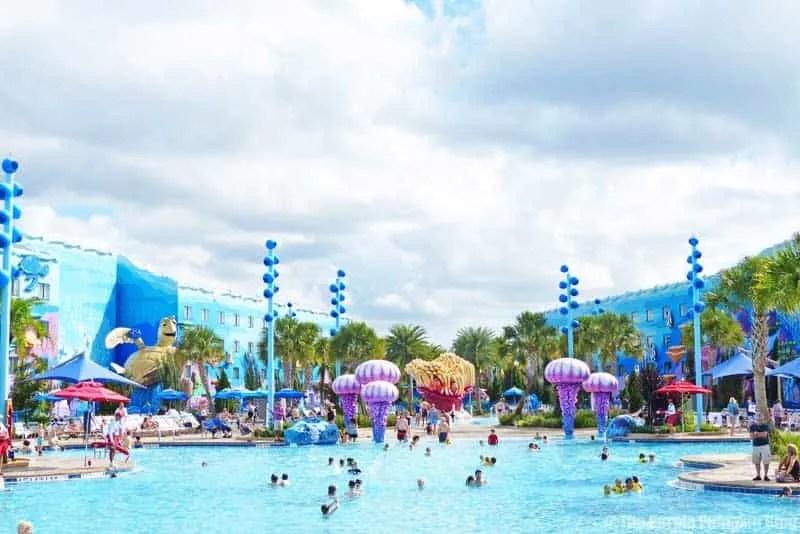 Disney Art of Animation - The Big Blue Pool