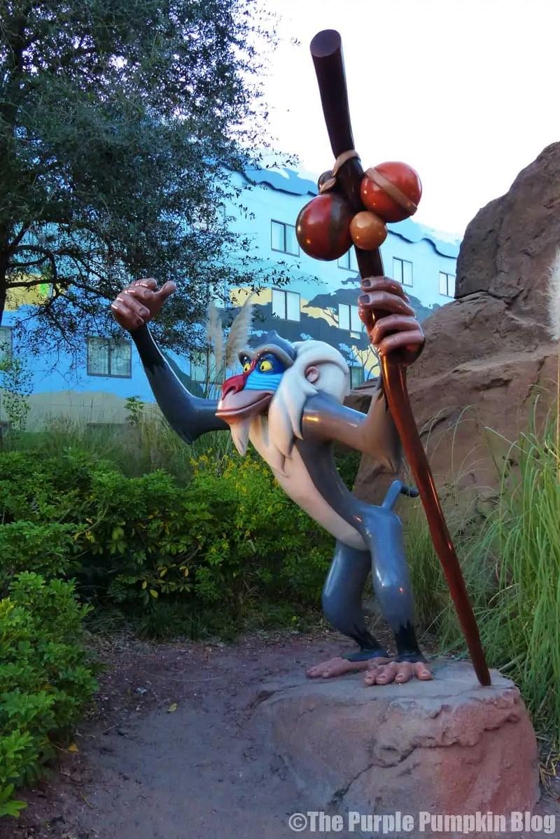 Disney Art of Animation - The Lion King Courtyard - Rafiki Statue