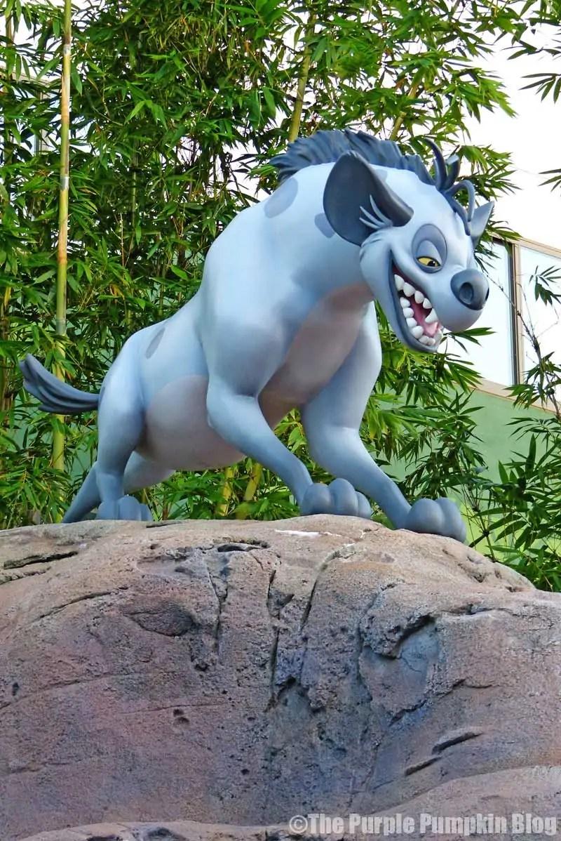 Disney Art of Animation - The Lion King Courtyard - Shenzi Statue