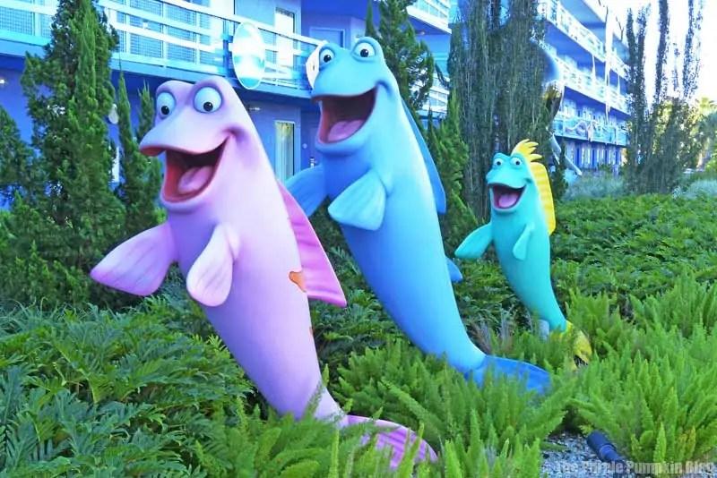 Disney Art of Animation - The Little Mermaid Courtyard
