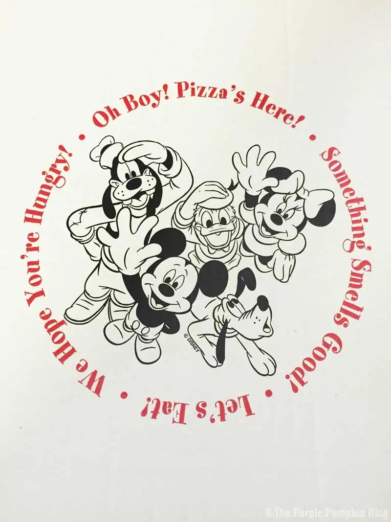 Disney Pizza Delivery