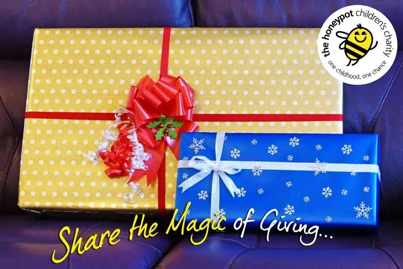 Share The Magic Of Giving