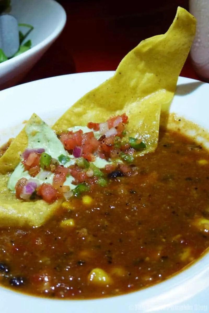 Whispering Canyon Cafe at Wilderness Lodge -Ranger John's Chicken Tortilla Soup