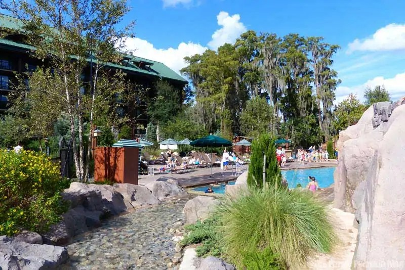 Disney Wilderness Lodge - Swimming Pool