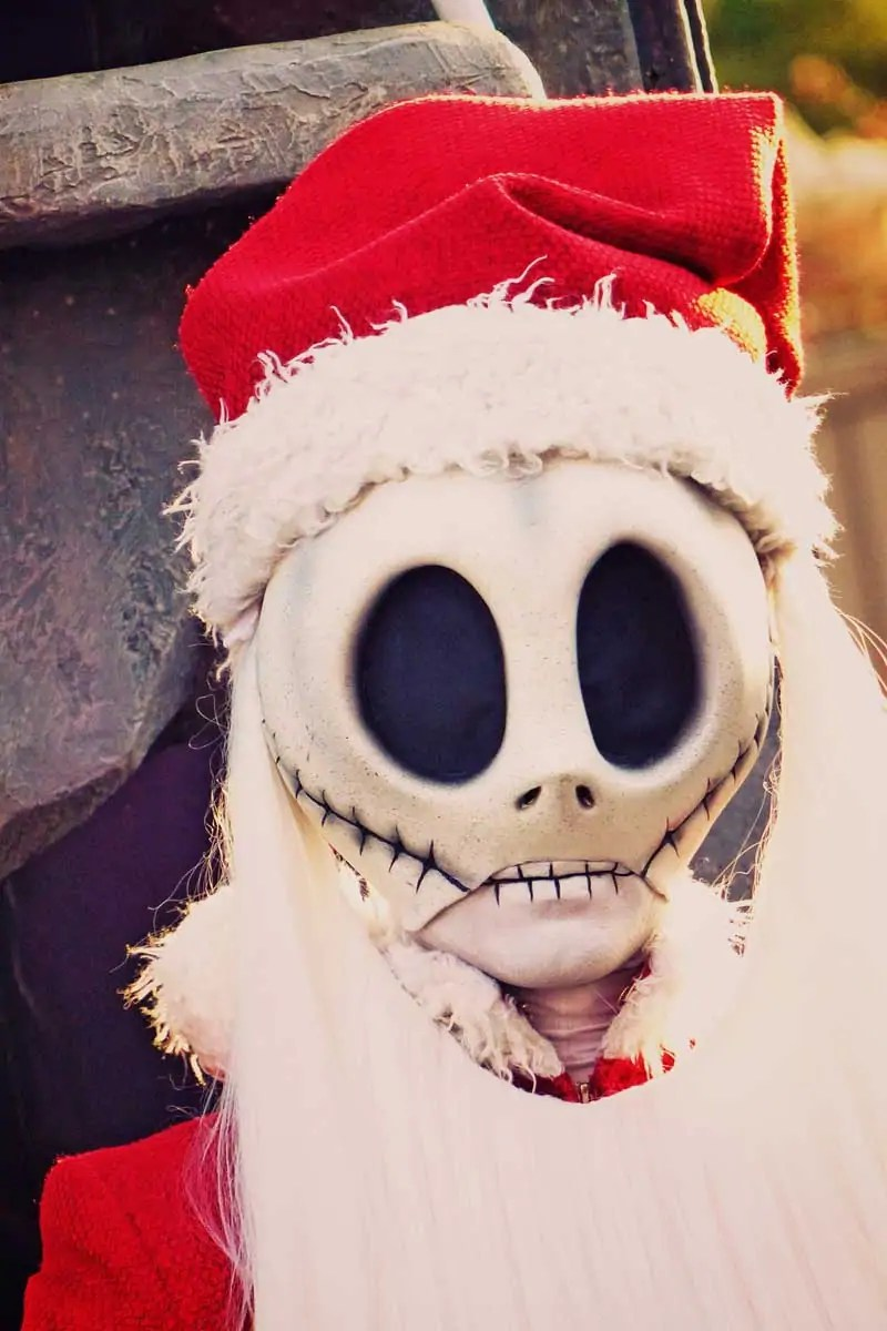 Jack Skellington at Frontierland - Disneyland Park, Paris