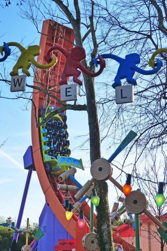 Toy Story Playland - Walt Disney Studios Park, Disneyland Paris