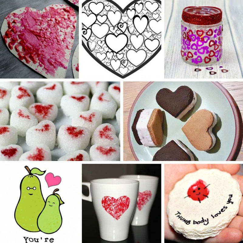 24 Food Craft Ideas For Valentine S Day