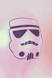 Star Wars balloons - Storm Trooper