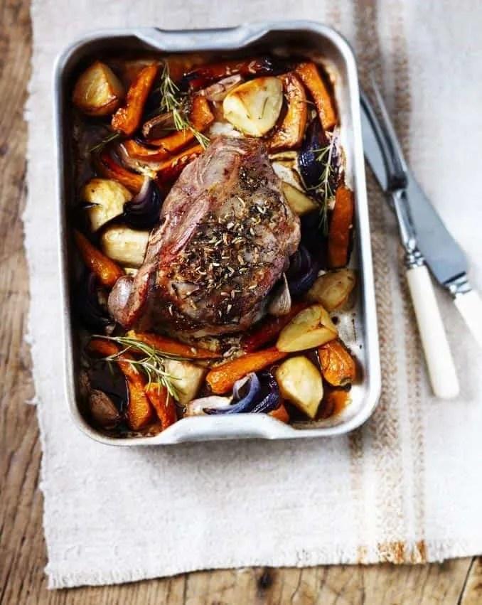 Easter Roast Lamb Recipe