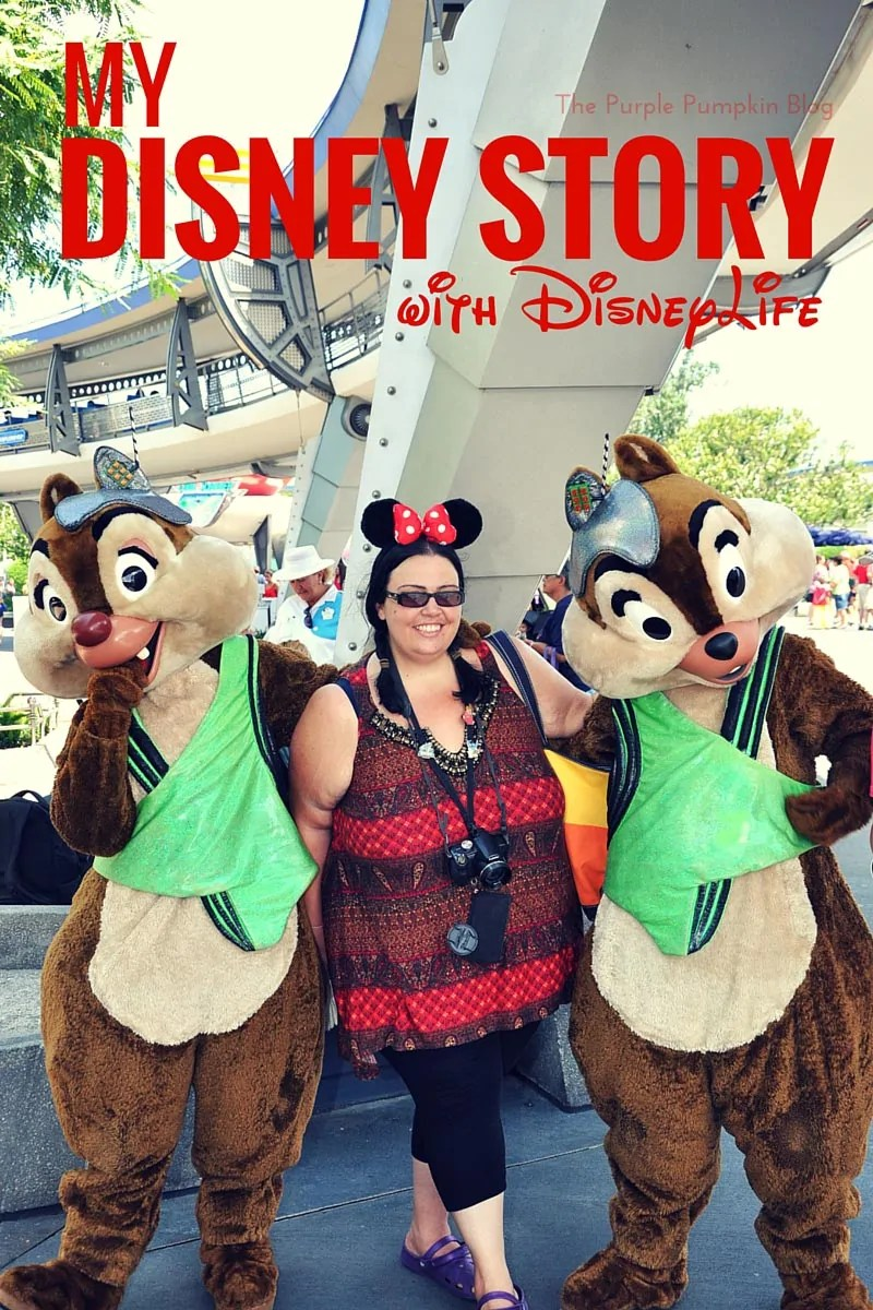 My Disney Story with DisneyLife