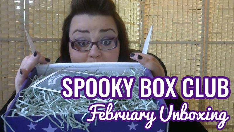 Spooky Box Club - February Unboxing - The Graveyard Box