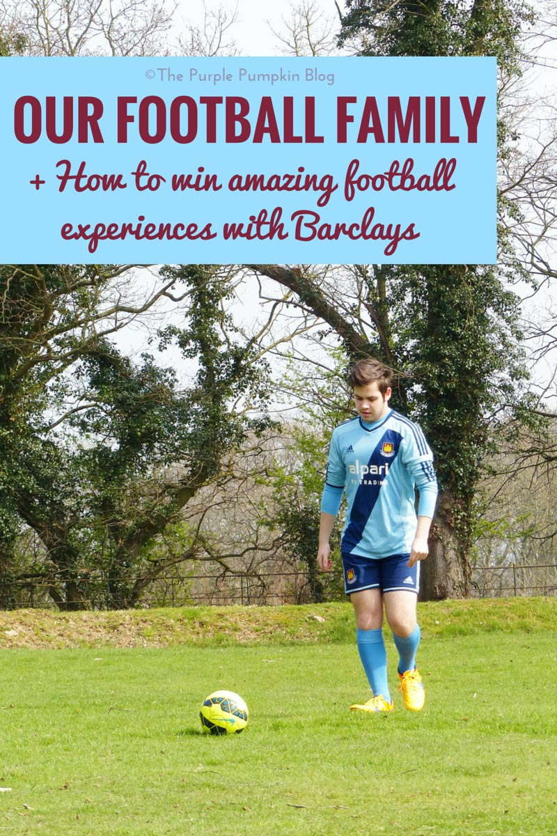 Our Football Family + How to win amazing football experiences with Barclays