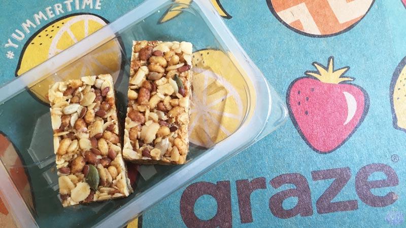 Graze Box - #Yummertime - Banana Protein Flapjack