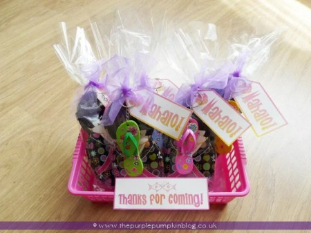 Tropical Party Favors