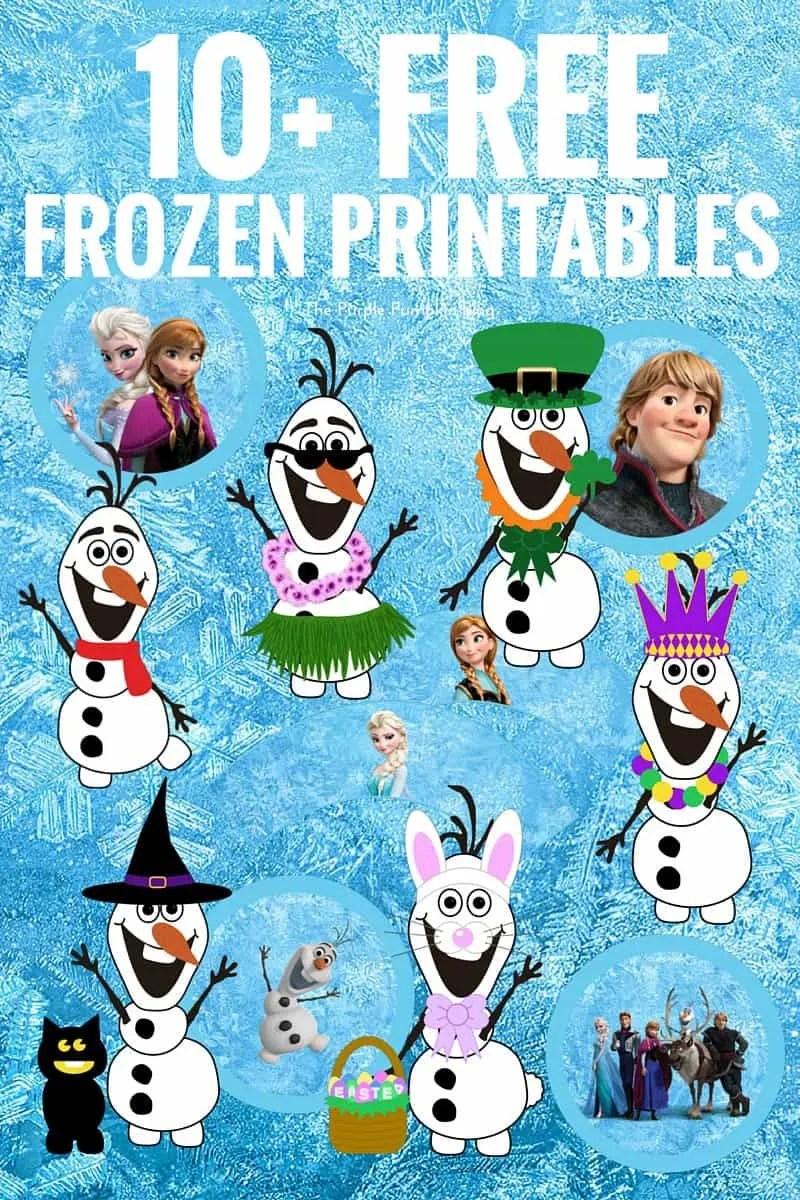 10 Free Frozen Printables