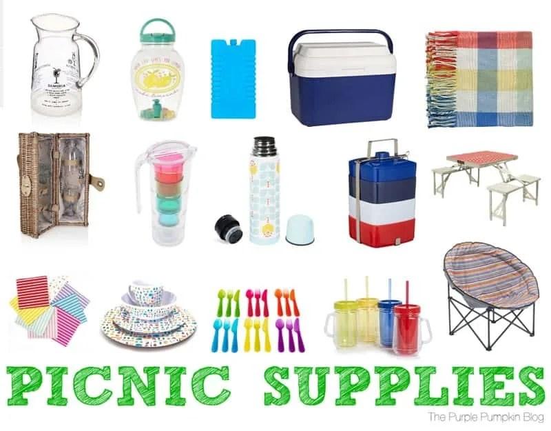 Picnic Supplies