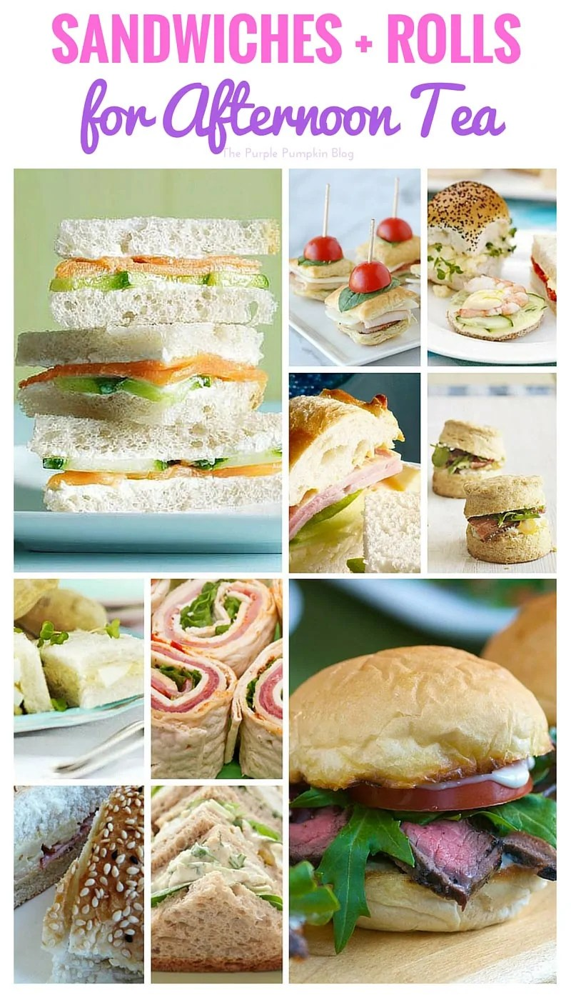 Sandwiches for Afternoon Tea + 40 more recipes for Afternoon Tea