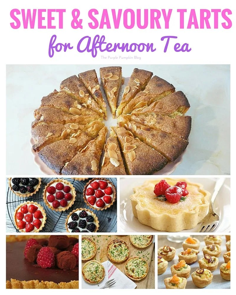 Sweet and Savoury Tarts + 44 more recipes for afternoon tea
