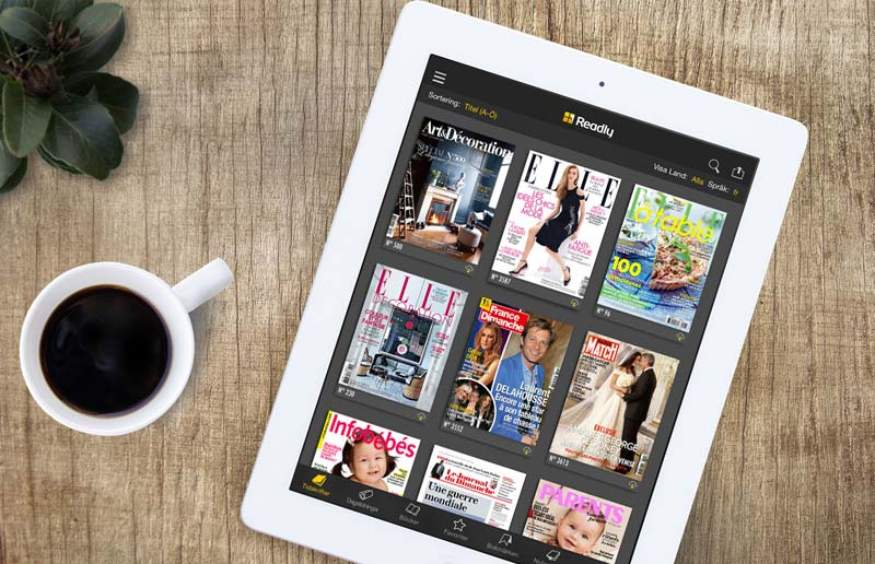 Readly Magazine App