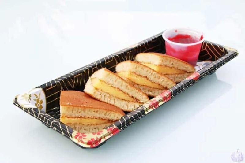 Custard Dorayaki - Yo! Sushi