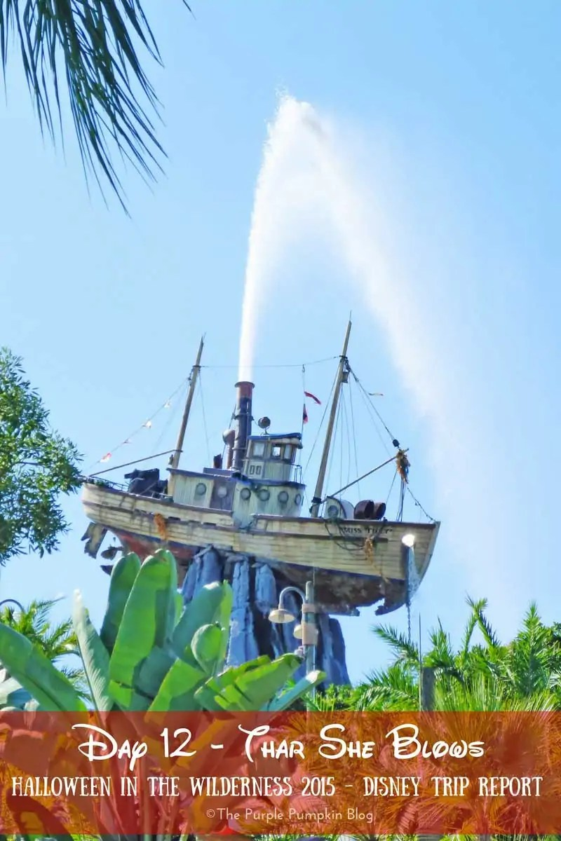 Day 12 - Thar She Blows! A day at Disney's Typhoon Lagoon