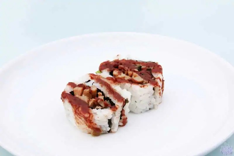 Hoisin Duck roll - Yo! Sushi