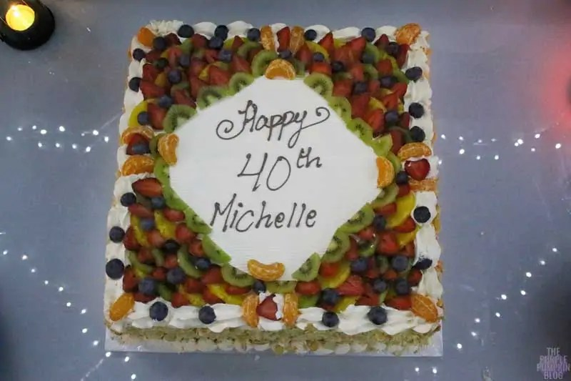 My 40th Birthday Cake