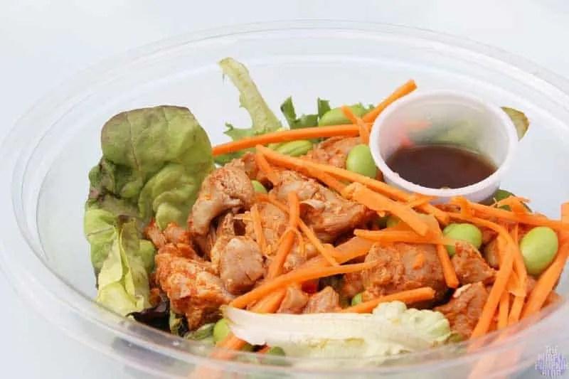 Spicy Chicken Salad - Yo! Sushi