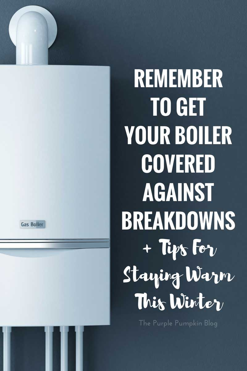 Boiler Cover from SSE + My 24 Hours Without A Boiler #noboiler (Ad)